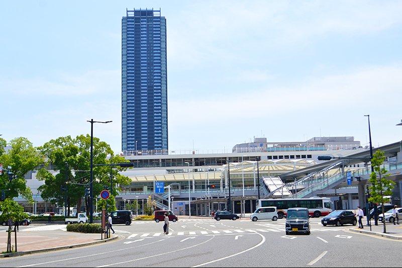 広島電鉄路面電車の「広島駅」停留場
